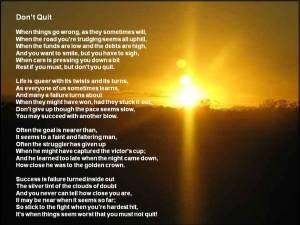 """Poem, """"Don't Quit"""""""